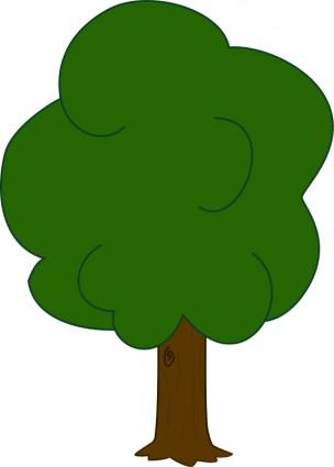 304x425 Oak Tree Clip Art