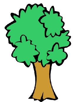 252x344 Clip Art Oak Tree Clipart Image