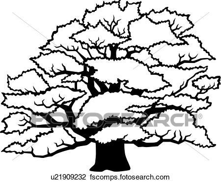 Oak Leaves Clipart