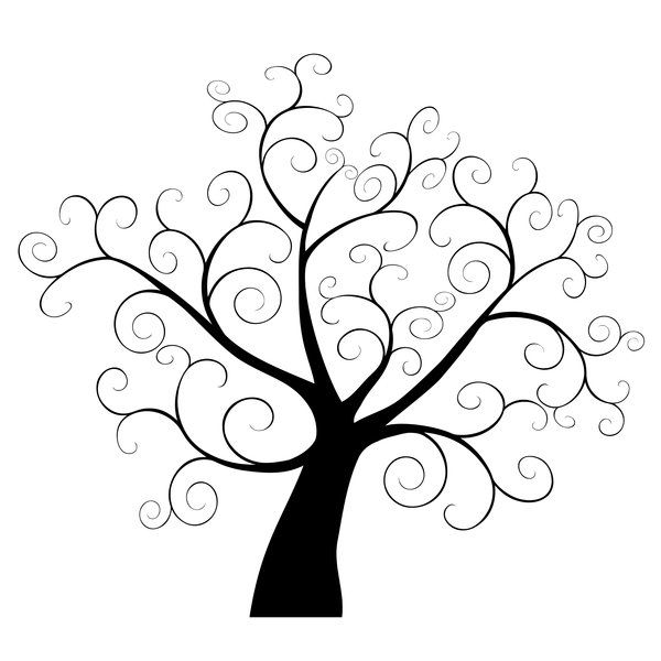 Oak Tree Clipart Black And White Free Download Best Oak Tree