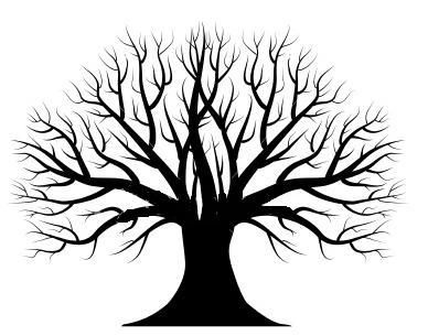 388x305 Silhouette Tree Ideas About Tree Silhouette On Silhouette Clip Art