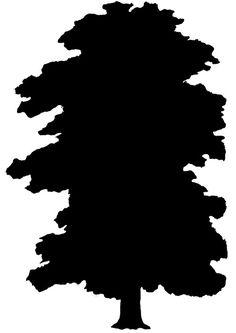 236x333 Tree Silhouette Woodbuning Tree Silhouette