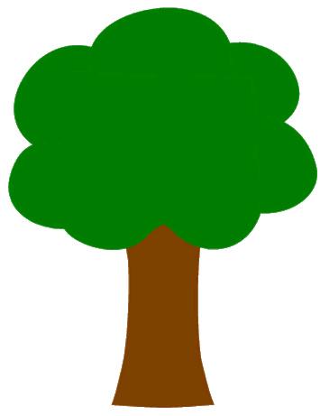 355x461 Oak Tree Clipart Tree Clip Art 1 Image