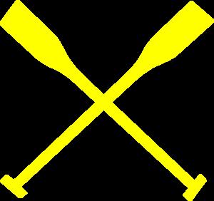 300x282 Rowing Oars Clip Art