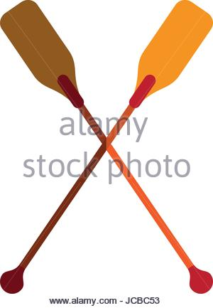 300x433 Boat Oars Icon Image Stock Vector Art Amp Illustration, Vector Image