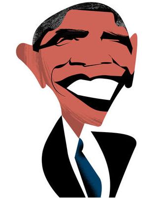 339x403 Celebrity Clipart Barack Obama
