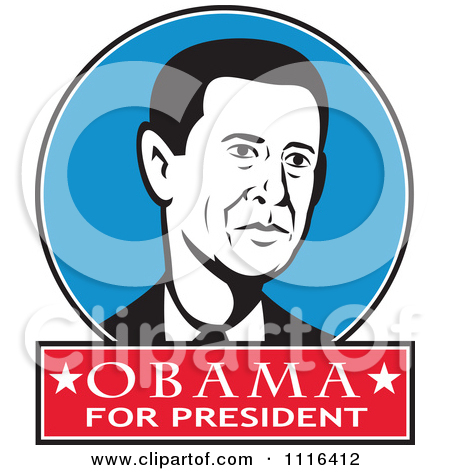 450x470 Clip Art President Obama Clipart