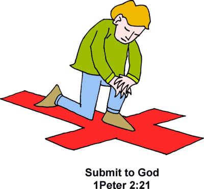 400x370 Image Submit To God 1 Peter Clip Art