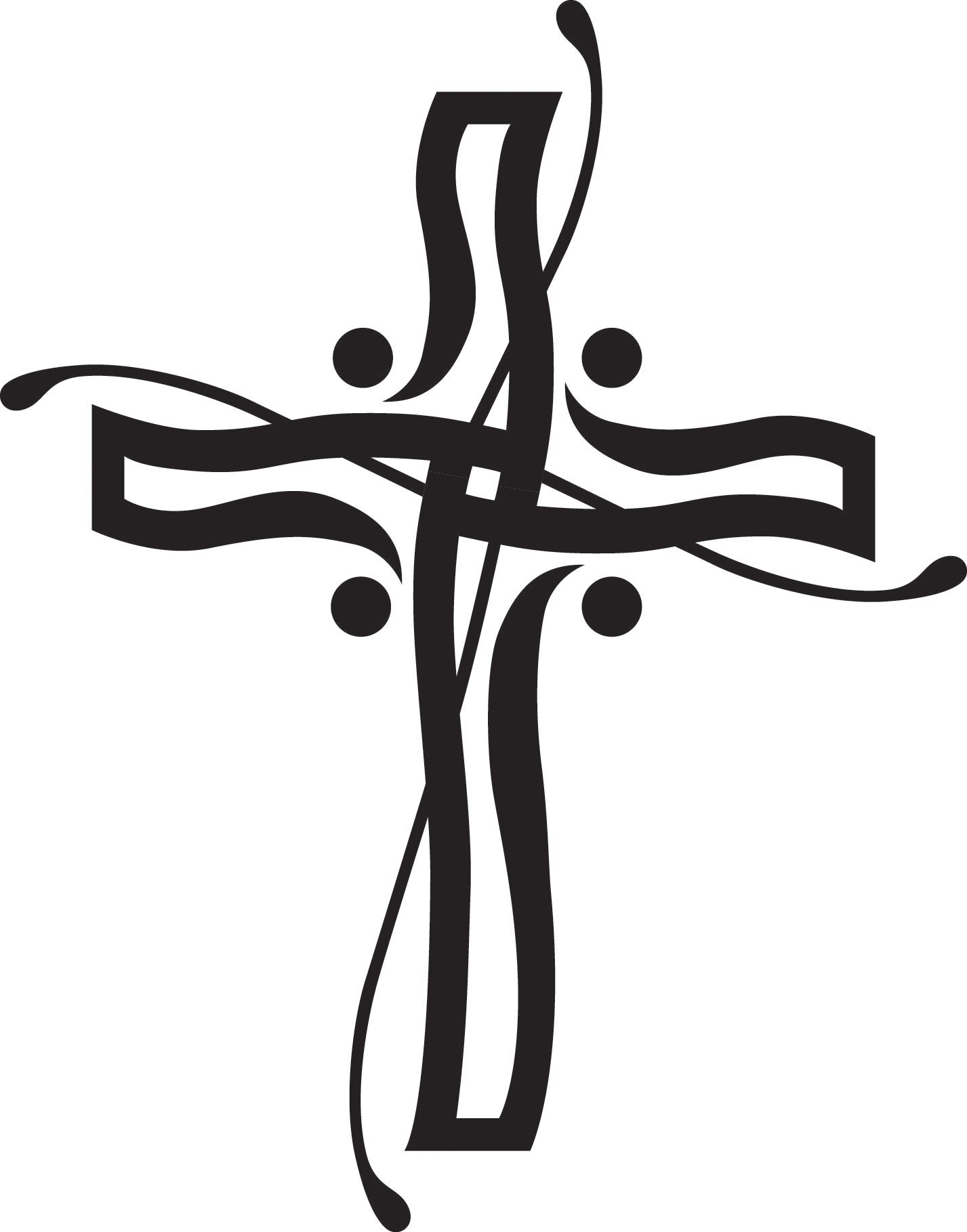1427x1819 Lily Clipart Funeral Cross