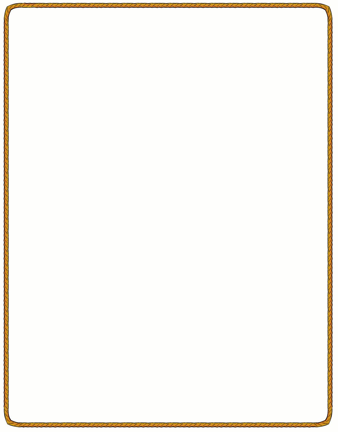 1140x1456 Obituary Borders Clipart