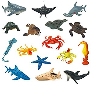 300x282 Large Sea Animals Ocean Marine Sea Creatures Plastic