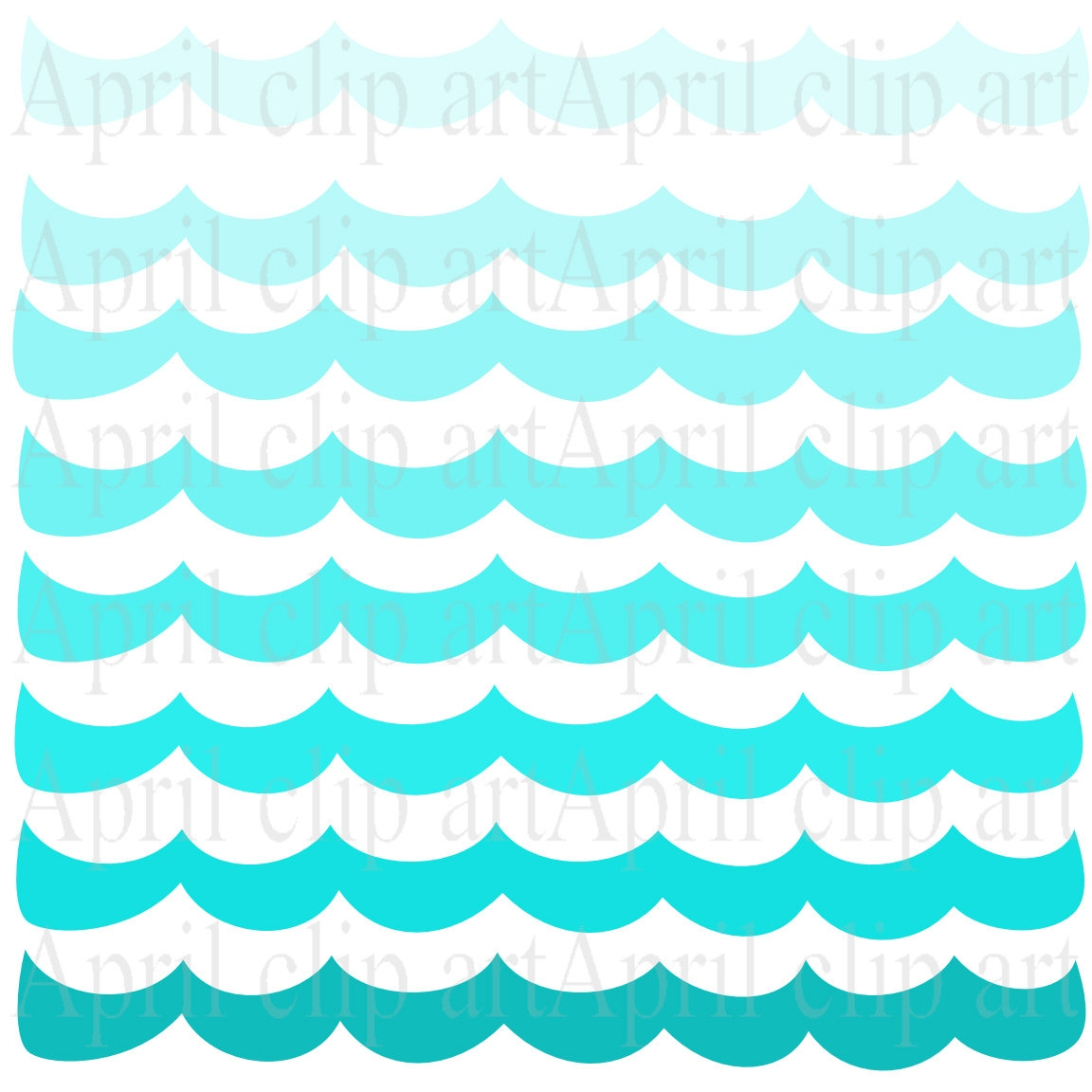 1152x1152 Wave Background Clipart