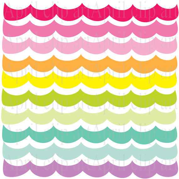 570x570 Items Similar To Pastel 2 Ocean Waves Border Clipart, Sea, Wave
