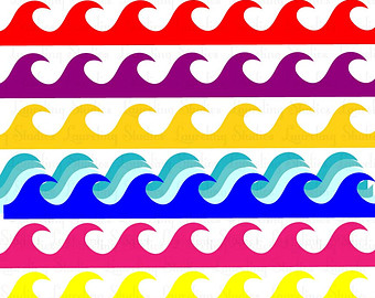 340x270 Ocean Waves Clip Art Vectors Download Free Vector Art Clipartix 4
