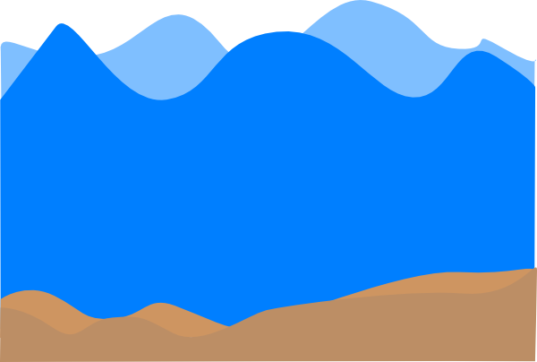 600x404 Ocean Bottom Clip Art
