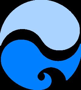 267x297 Ocean Splash Clip Art
