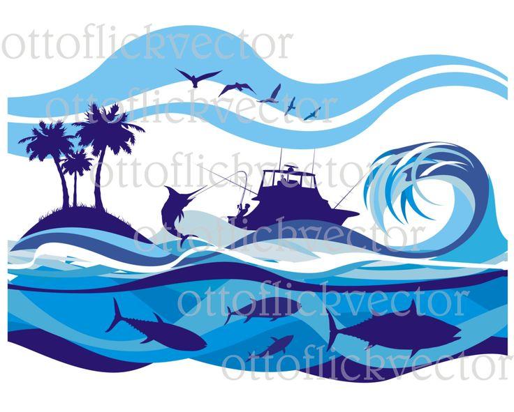 Ocean Clipart Background