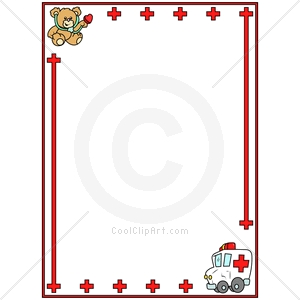 300x300 Medical clipart border
