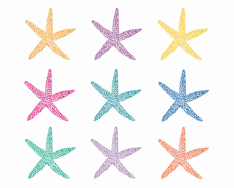 1500x1200 Starfish Border Clipart