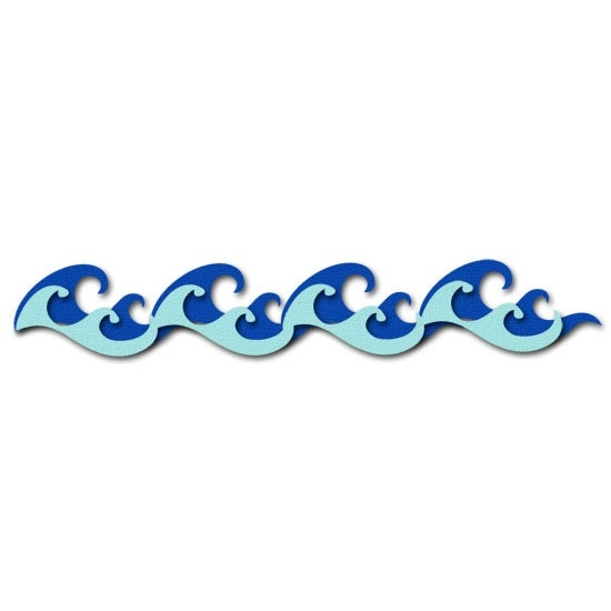 550x550 Water clip art border