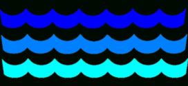 272x125 Ocean Waves Clip Art Vectors Download Free Vector Art Clipartix 2