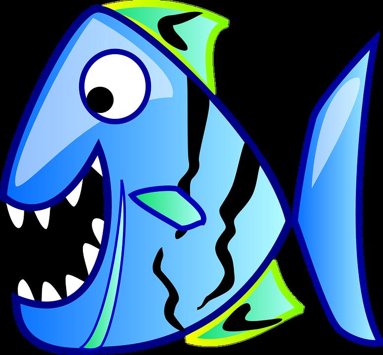 776x720 Piranha Clipart Ocean Fish