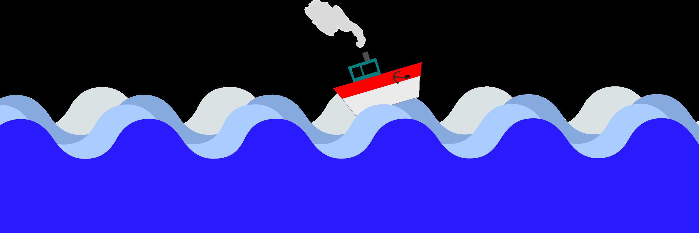 2400x801 Sea Clipart