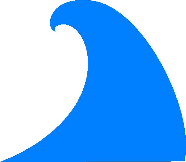 600x524 Ocean Clipart Blue Wave