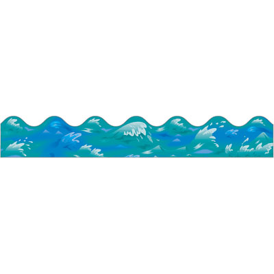 400x400 Waves Water Wave Border Clipart