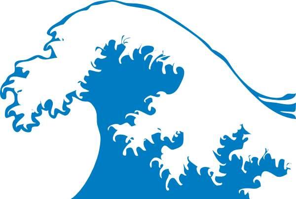 600x403 Ocean Wave Images Clip Art