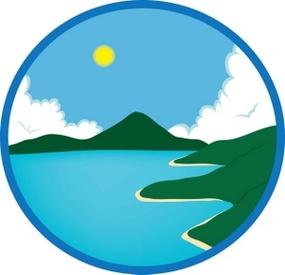 285x275 Ocean Clip Art