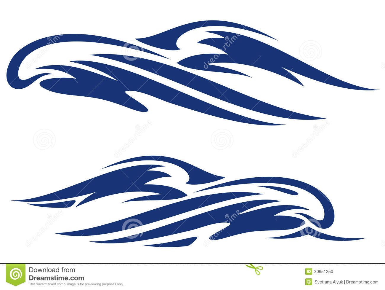 1300x978 Wave Outline Clipart