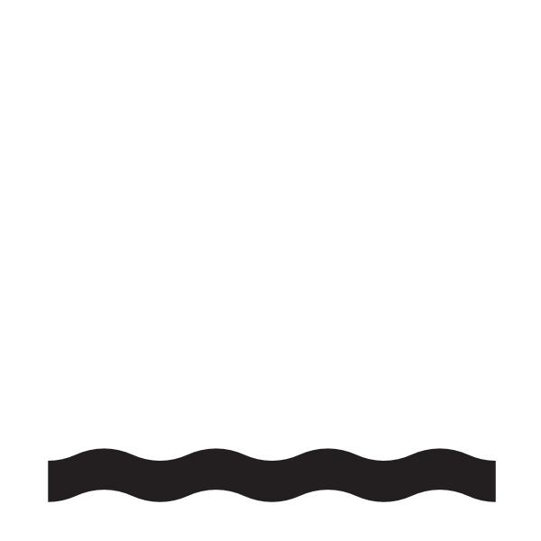 600x600 Waterline Wave Clip Art
