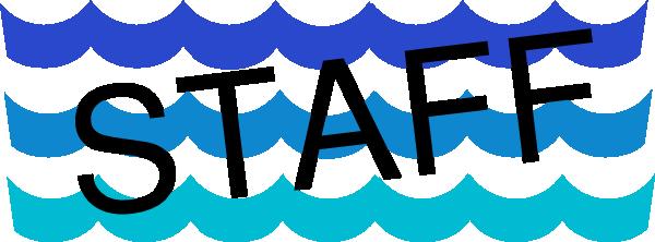 600x222 Wave Pattern Staff Clip Art