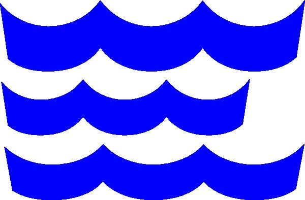 600x394 Wave Clip Art Blue Download Vector Clip