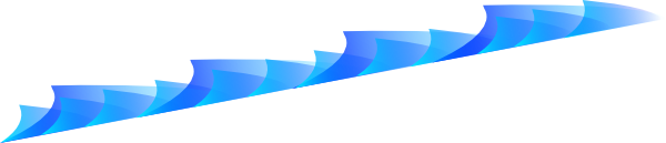 600x129 Waves Wave Clip Art