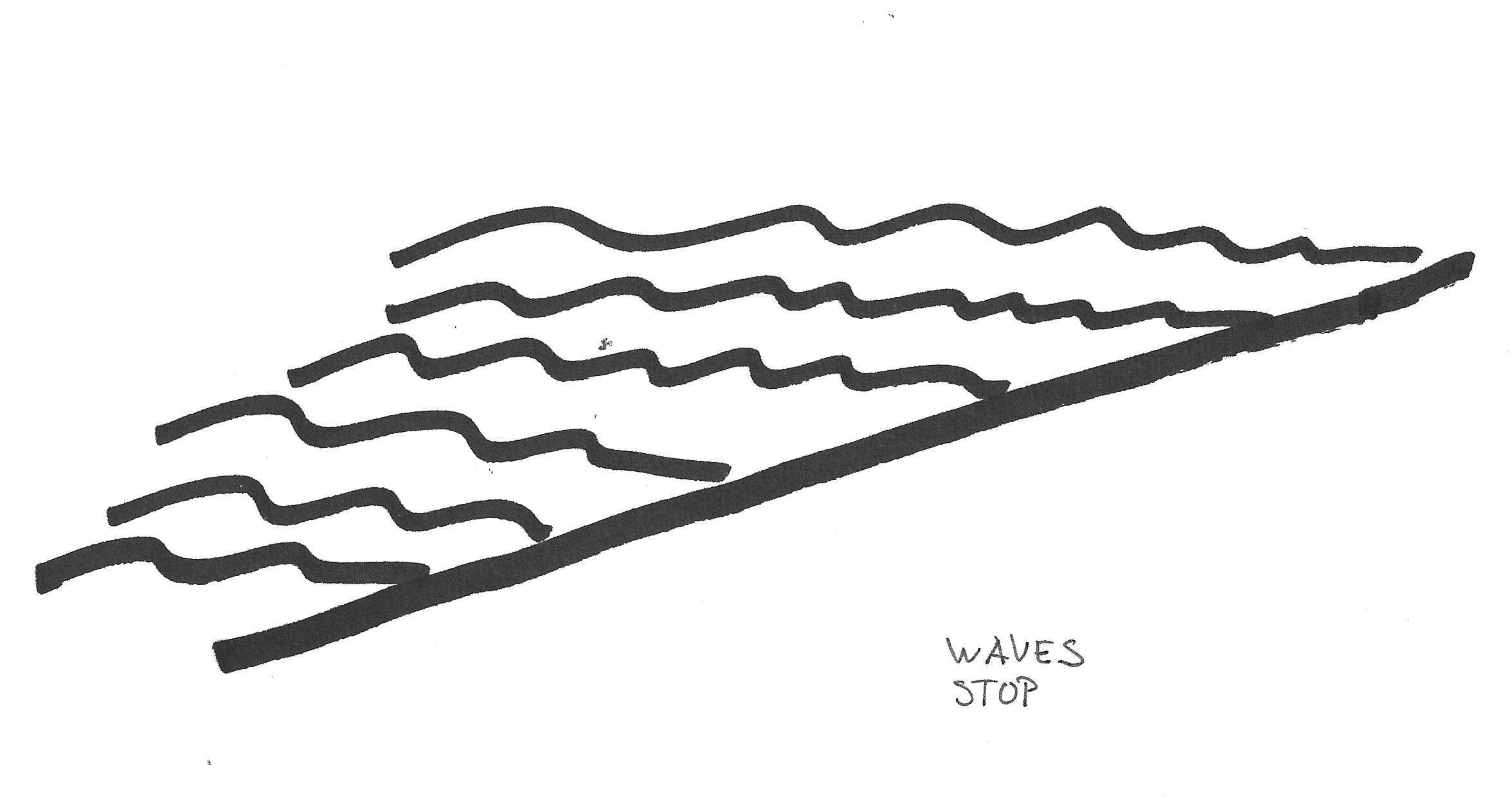 2352x1240 White Waves Clipart