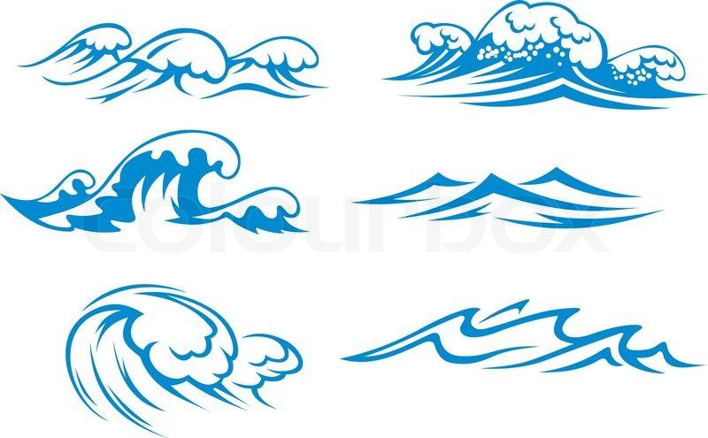 800x495 Ocean Silhouette Clipart