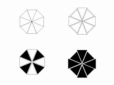 468x351 Octigons Clipart Shape Outline