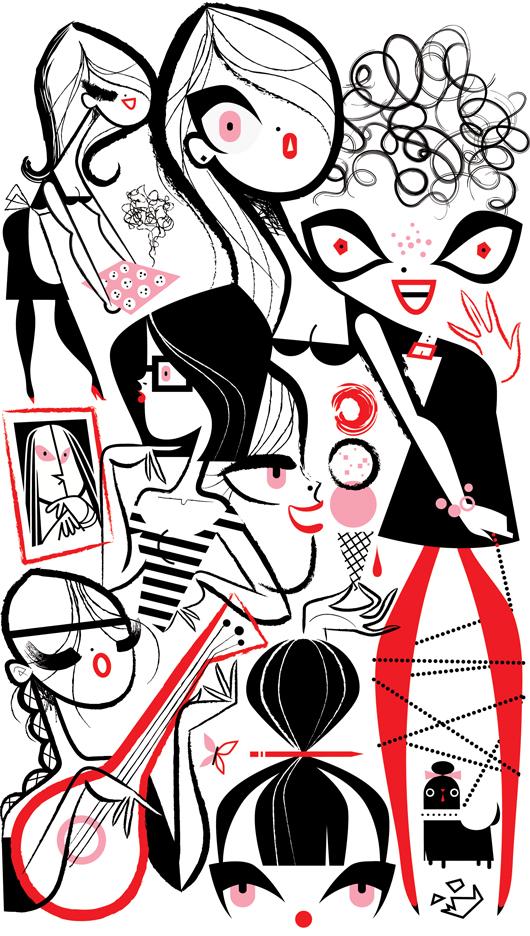 530x936 Lifestyle Illustration