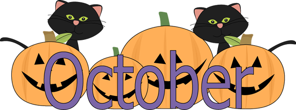 600x224 Free October Clipart