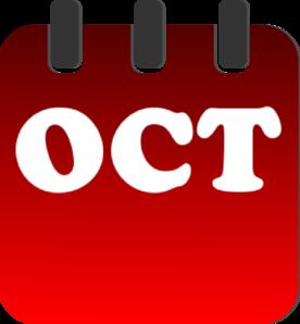 276x298 October Free Clip Art Clipart Image 2