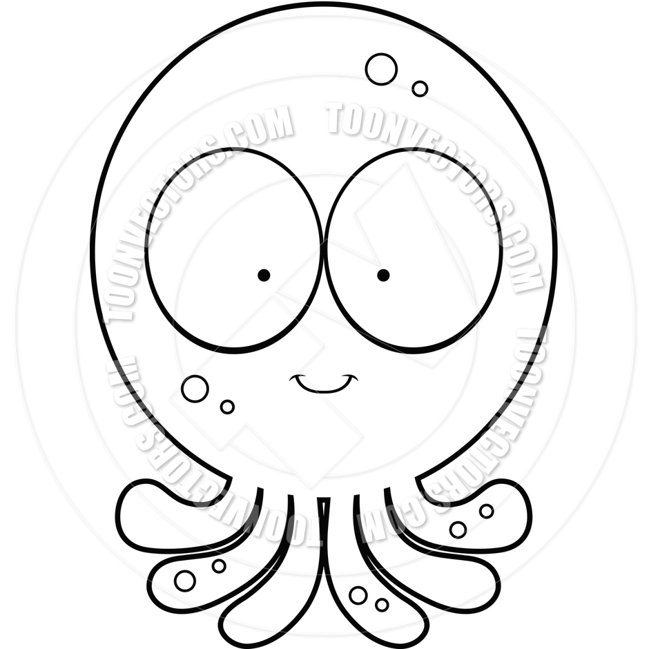 940x940 Octopus Clip Art Black And White Clipart Panda