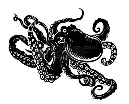 450x363 31 Best Octopus Clipart Images Crafts, Diamond And Draw