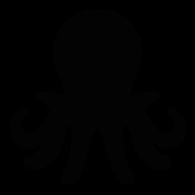 283x283 Octopus Silhouette Silhouettes Silhouettes