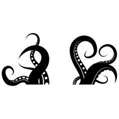 236x236 Octopus Clipart Silhouette