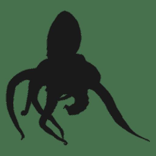 512x512 Octopus Silhouette