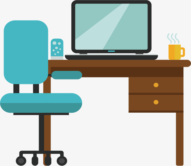 650x566 Study Office Furniture, Study, Learn, Office Png And Vector