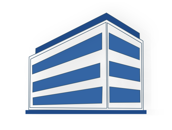 600x452 Commercial Buildings Clip Art