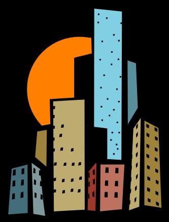 333x438 Office Building Clip Art